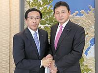 京都府知事 西脇 隆俊さんと